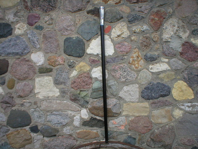 UNIQUE CANE WALKING STICK CAST ALUMINUM HANDLE E