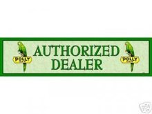 POLLY GAS AUTHORIZED DEALER SIGN