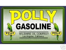 POLLY GASOLINE SIGN RETRO METAL SIGNS