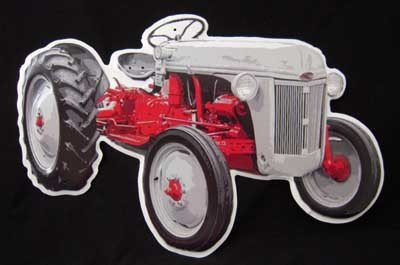 FORD DIE-CUT TRACTOR TIN SIGN