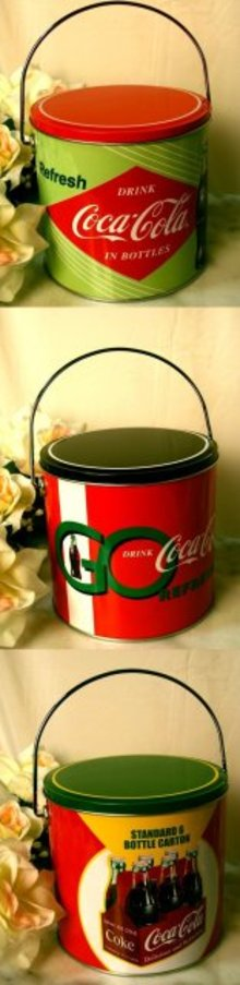 Coke Coca Cola Cookie Canister Assorted