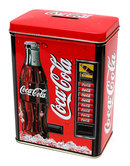 Coke Tin Vending Bank