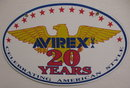 AVIREX PORCELAIN COATED SIGN