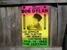 BOB DYLAN 1966 CONCERT POSTER PRINT