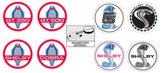 CARROLL SHELBY MAGNET SET