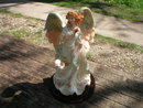 RESIN ANGEL COLORFUL HOME DECOR