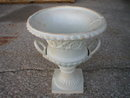 CAST IRON GARDEN URN VICTORIAN PLANTER DECOR