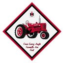 FARMALL DIAMOND SHAPED WOOD SIGN