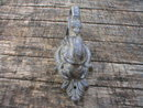 CAST IRON SNAKE SERPENT DOOR KNOCKER