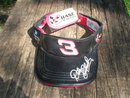 DALE EARNHARDT LEATHER SUN VISOR CAP