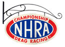 NHRA CHAMPIONSHIP DRAG RACING BRACKET SIGN