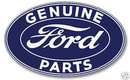 FORD GENUINE PARTS OVAL SIGN LARGE
