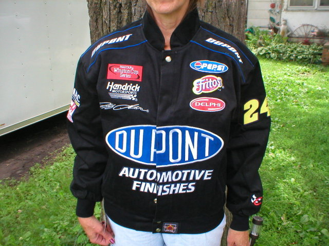 JEFF GORDON DUPONT TWILL COAT