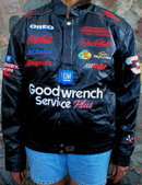 DALE EARNHARDT LEATHER COAT LARGE