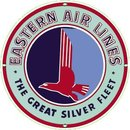 EASTERN AIR LINES PORCELAIN COATED SIGN