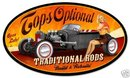 TOPS OPTIONAL TRADITIONAL RODS HEAVY METAL SIGN
