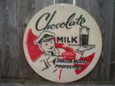 CHOCOLATE MILK SEAL ON HOOD PROTECTION Heavy Metal Sign
