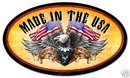 WORLD CLASS EAGLE large oval metal sign