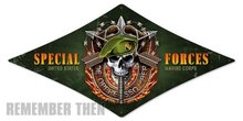 US Marines SPECIAL FORCES diamond shape Metal Sign