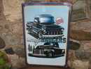 Classic Haulers chevy trucks METAL SIGN