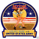 United States Army DEFEND YOUR COUNTRY sign