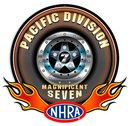 NHRA  PACIFIC DIVISION Heavy Metal Sign