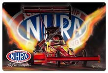Top Fuel Dragster HEAVY METAL SIGN