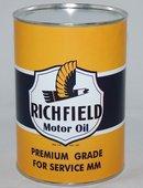 Richfield Yellow 32 Fluid Oz. Metal Oil Can