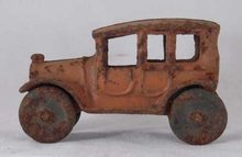 TOY CAR AGED CAST IRON