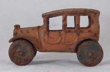 TOY CAR AGED CAST IRON