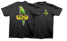 POLLY GAS T-SHIRT BLACK