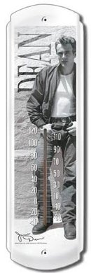 JAMES DEAN THERMOMETER SIGN