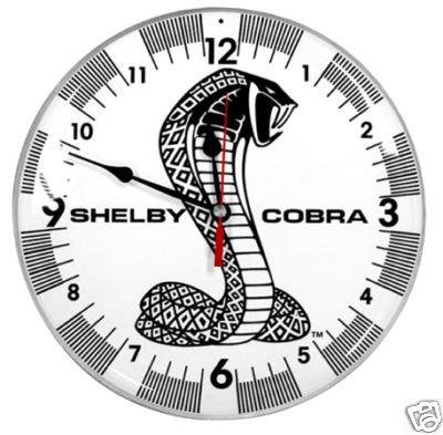 SHELBY COBRA RETRO CLOCK 14