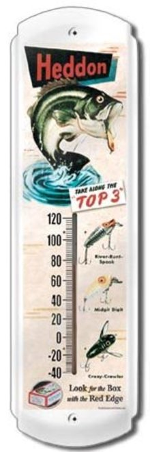 HEDDON THERMOMETER SIGN