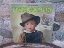 ELVIS COUNTRY METAL SIGN