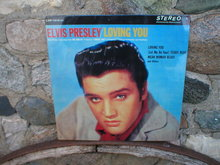 ELVIS PRESLEY LOVING YOU METAL SIGN
