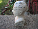 PHRENOLOGY HEAD SMALL PORCELAIN