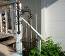 HANGING PLANTER Ornate Bracket Wrought Iron