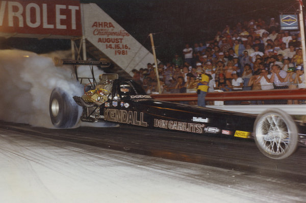 DON GARLITS KENDALL DRAGSTER HEAVY METAL  SIGN