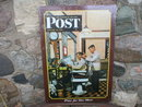 Saturday Evening Post 1946 time for one more METAL SIGN
