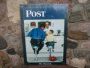 Saturday Evening Post The Runaway METAL SIGN