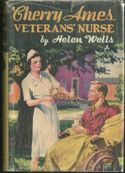 Cherry Ames Veterans' Nurse by Helen Wells 1946 1st DJ