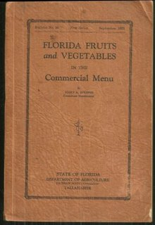 Florida Fruits and Vegetables in the Commercial Menu