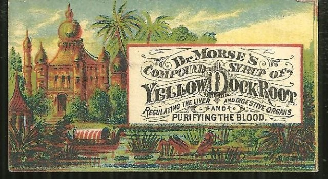 Victorian Trade Card for Dr. Morse's Compound Syrup