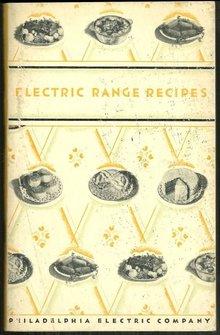 Electric Range Recipes Philadelphia Electric Company