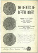 Genetics of Dermal Ridges by Sarah Holt 1963 with DJ