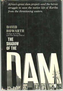 Shadow of the Dam by David Howarth 1961 1st edition DJ
