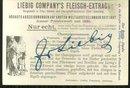 Victorian Trade Card Liebig Company's Fleisch-Extract