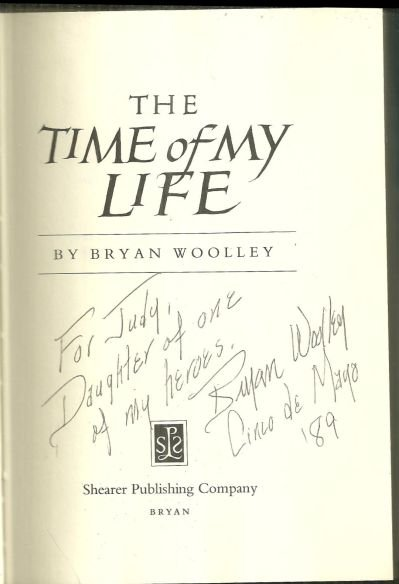 Time of My Life Signed by Bryan Woolley 1984 1st ed DJ