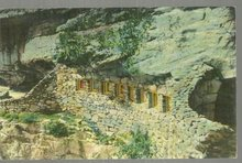 Postcard of Rainbow Hall, Rock City Gardens Atop Lookout Mountain, Tennessee